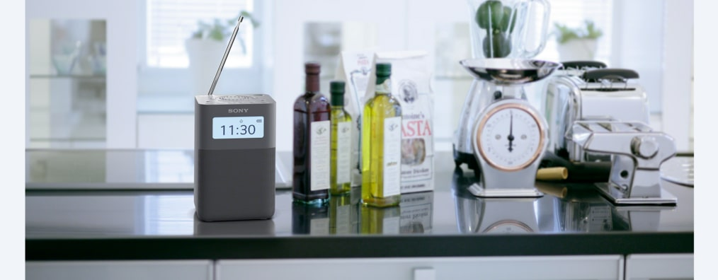 Radio réveil DABDAB+ portable avec haut parleurs   XDR V20D