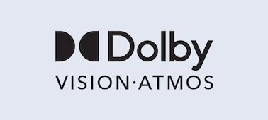 Logo Dolby Vision® et Dolby Atmos®
