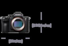 Image de Appareil photo plein format 35mm avec mise au point automatique α7RIII