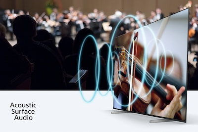 Concert de musique illustrant l'harmonie entre le son et l'image