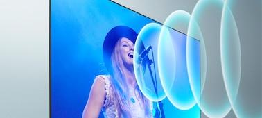Image d'un chanteur se produisant lors d'un concert