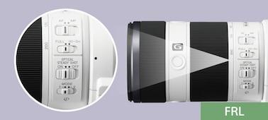 Image de Stabilisateur optique SteadyShot FE 70-200 mm F4 G