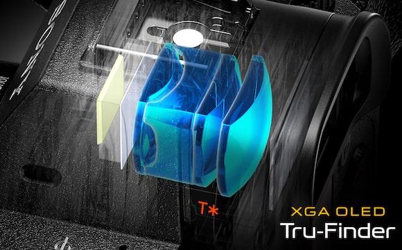 Viseur OLED XGA avec revêtement Zeiss® T*