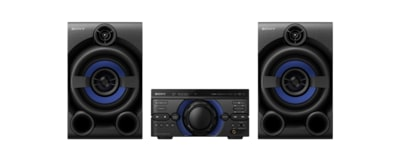 Images de Système audio high-power M20D avec DVD