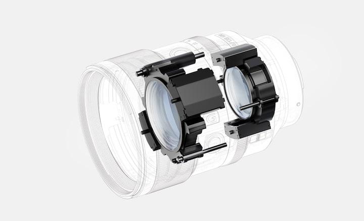 Les moteurs linéaires XD à l'avant et à l'arrière permettent de réaliser une mise au point automatique rapide, précise et silencieuse