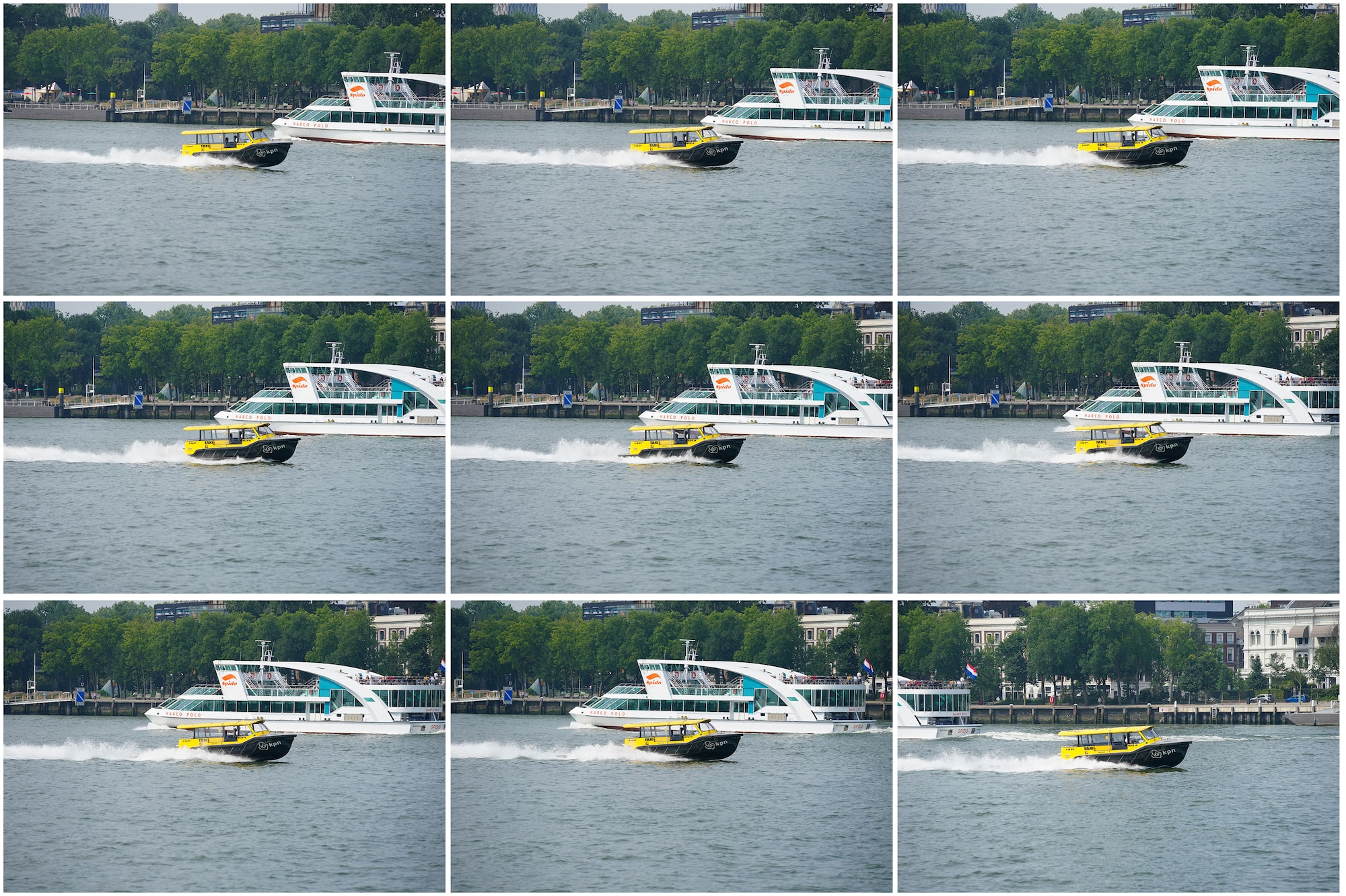 gustav kiburg sony alpha 9M2 sequence of speedboat images at high speed