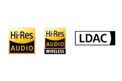 Logos Audio HR, audio HR sans fil et LDAC