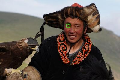 Sélection AF de l'œil droit/gauche par contact