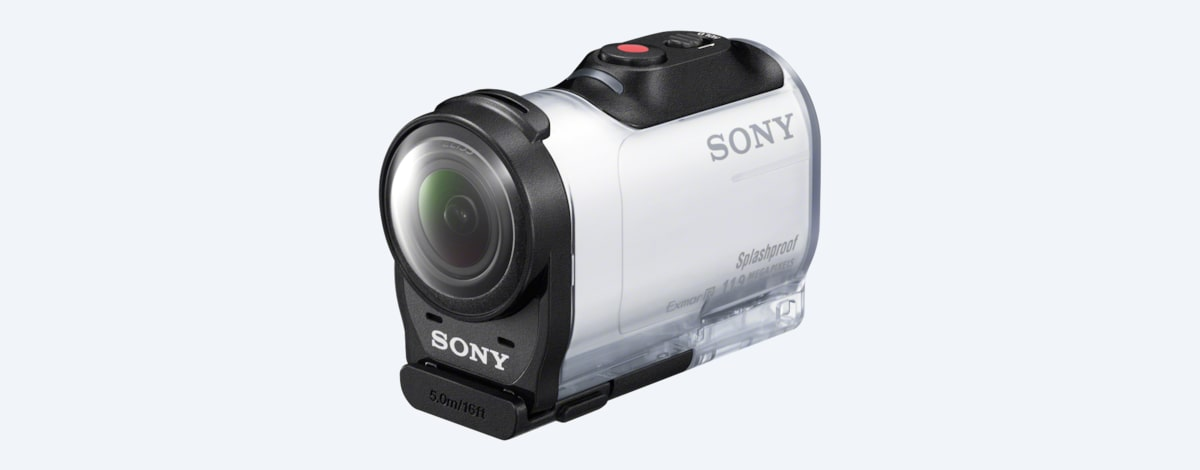 090e17bbfb Mini caméra sport de type Action Cam | HDR-AZ1 | Sony FR
