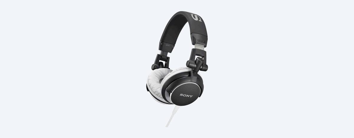 Casque Audio Dj Solide Avec Basse Puissante Mdr V55 Sony Fr