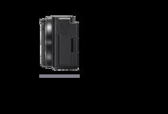Vue latérale droite d'un appareil photo avec une profondeur de 44,8mm