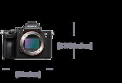 Image de α7 III avec capteur d'image plein format 35mm