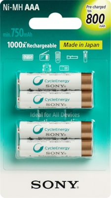 Images de Piles rechargeables Premium multi-usage (AA ou AAA)