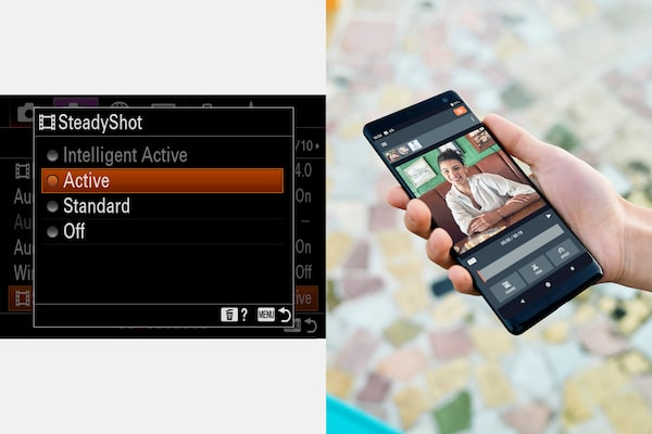 Stabilisation d'image améliorée pendant l'enregistrement vidéo 4K