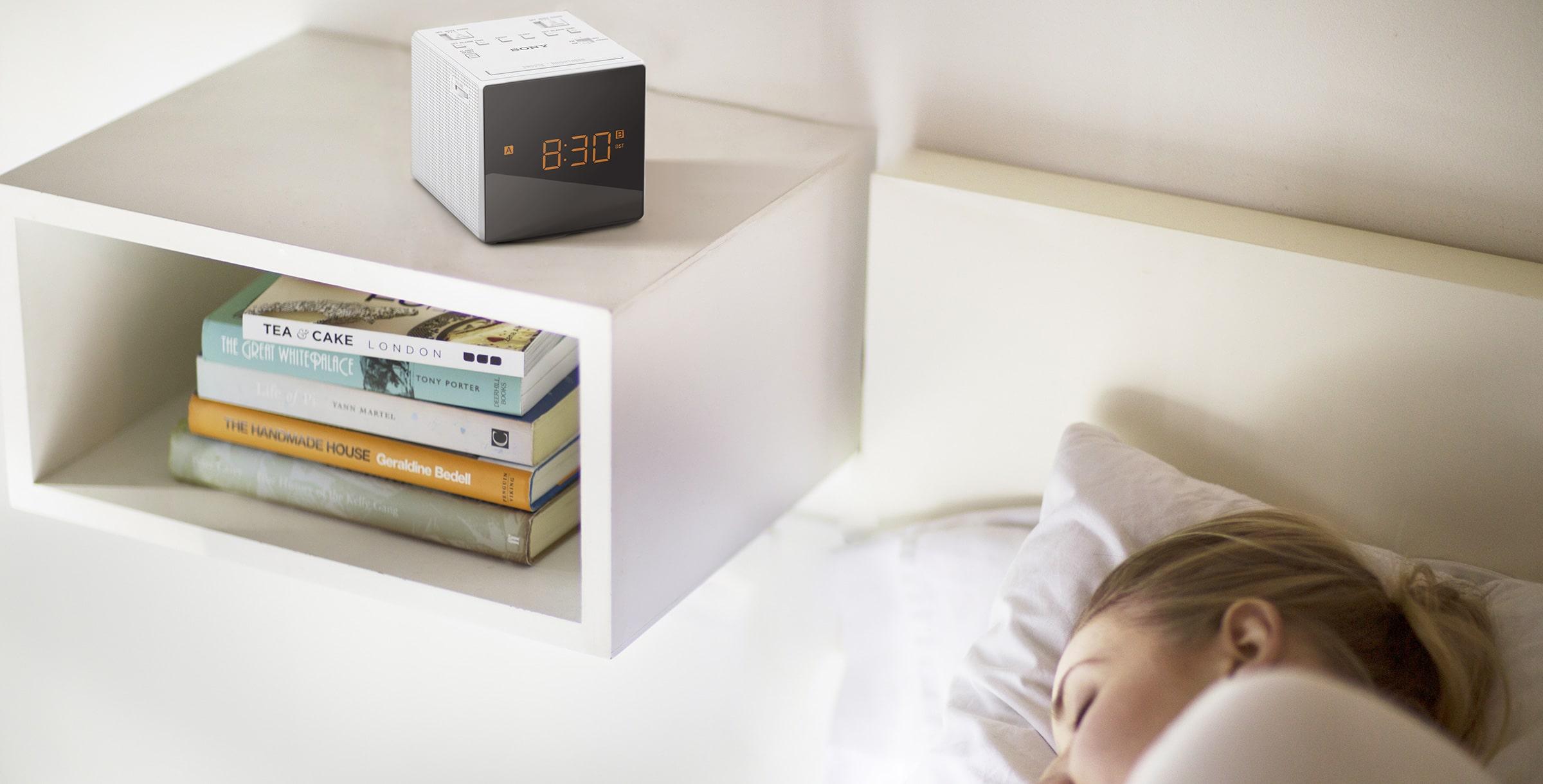 Meilleur radio réveil design | ICF C1T | Sony FR