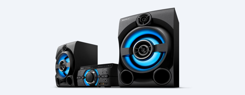 Images de Système audio high-power M60D avec DVD