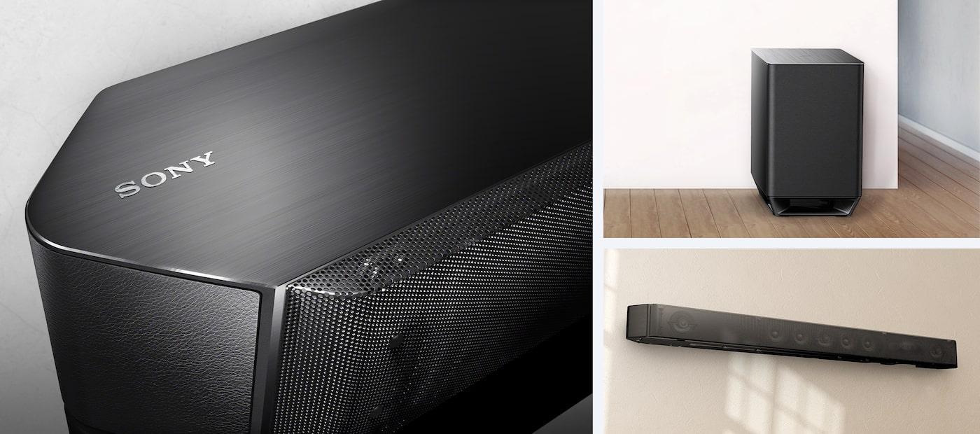 barre de son 7 1 home cinema barres de son ht st9 sony fr. Black Bedroom Furniture Sets. Home Design Ideas