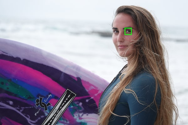 Eye AF temps réel: humains