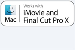 Compatible iMovie et Final Cut Pro X