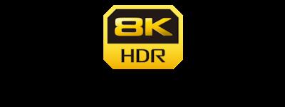 Logo 8K HDR