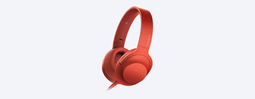casque sony mdr 100 rouge