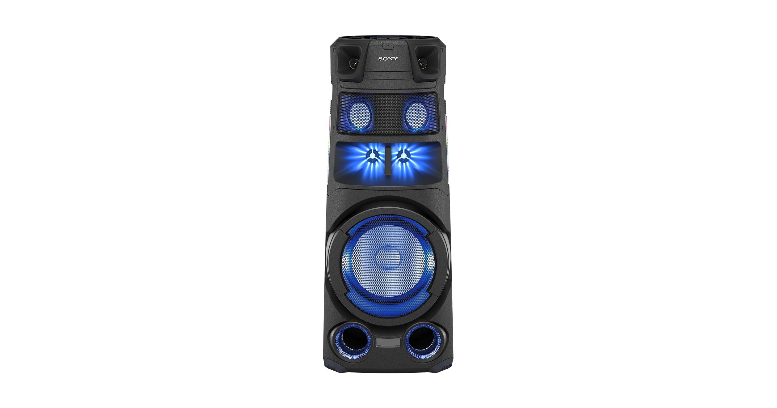 Caractéristiques techniques du MHC-V83D | Chaînes Hi-Fi tout-en-un | Sony FR