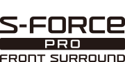 Logo technologie S-Force PRO Front Surround
