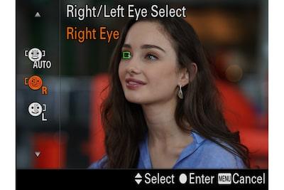 Sélection œil droit/gauche pour tous les besoins